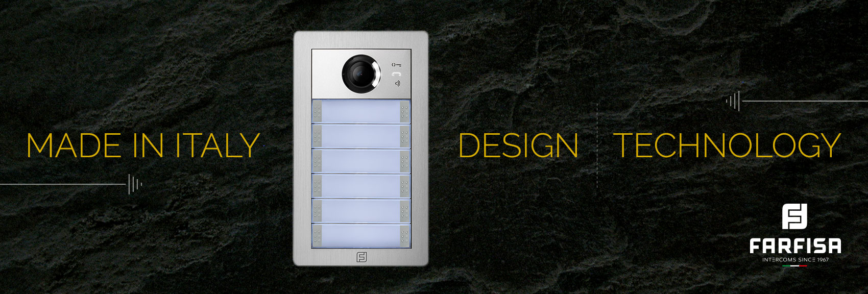 Farfisa Video Door Entry System Communication Home Automation And