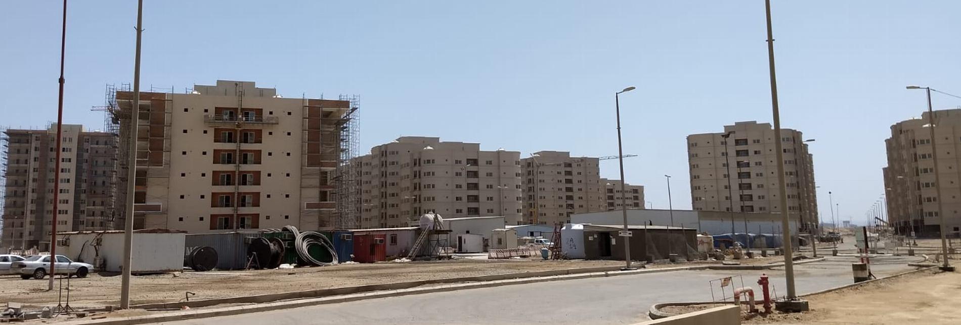 Asie Al Raidah Housing Complex Project Djeddah Arabie S