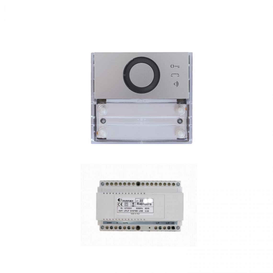 Audio kit basic installation - KIT BAAB