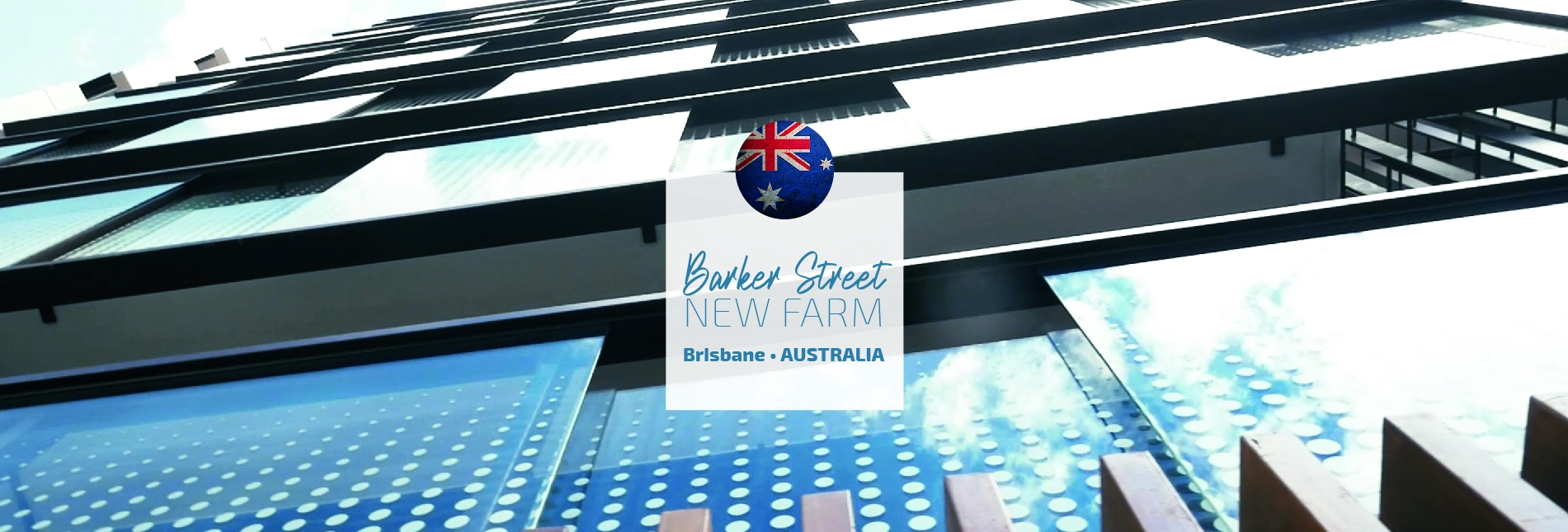 Barker st, New farm, Brisbane, Qld Australia
