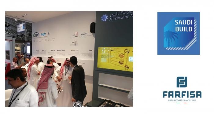 Farfisa at Saudi Build