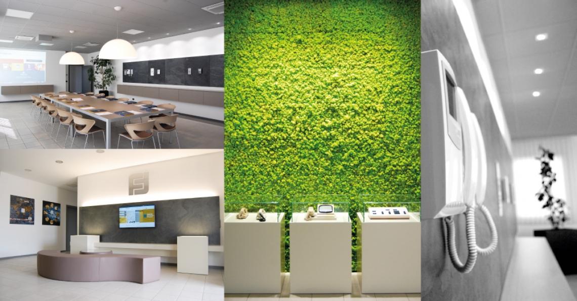 FARFISA: nuova reception e meeting room