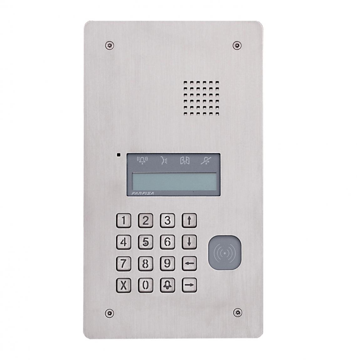 POSTO ESTERNO AUDIO SOLVO RFID - TD2000RA