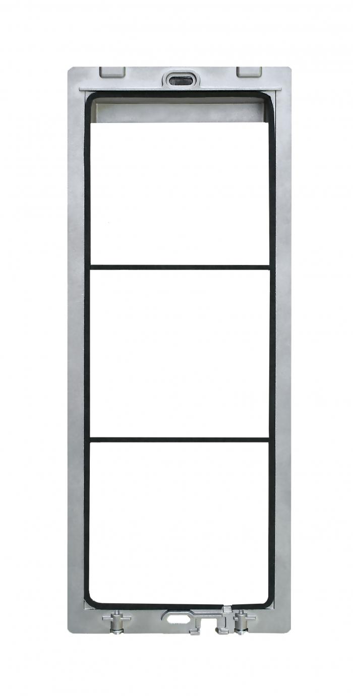 Module frame for 3 modules Alba - AB73