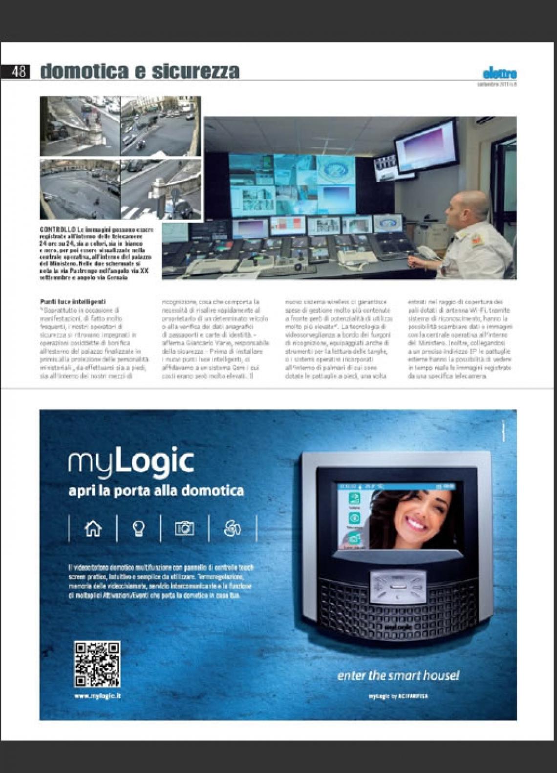 myLogic, videocitofono domotico