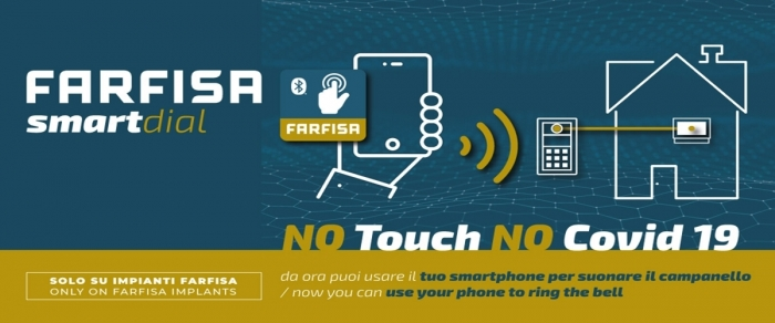 New app Farfisa Smart Dial and you can contain the pandemic!