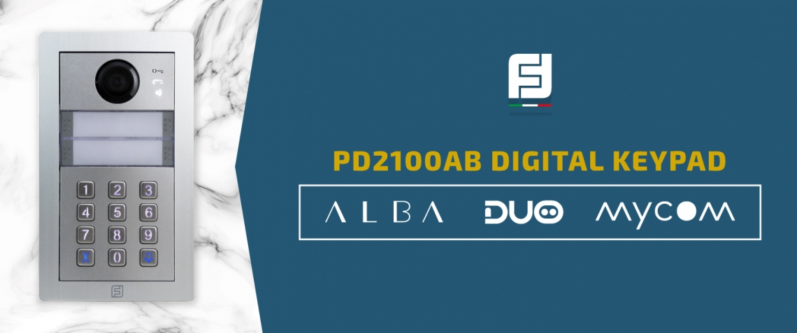 New PD2100AB Alba digital keypad module