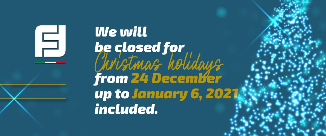 Notice for Christmas closure