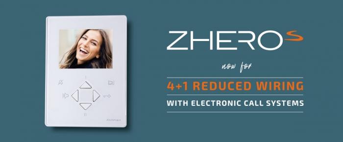 Nuevo videoportero ZHeroS para 4+1