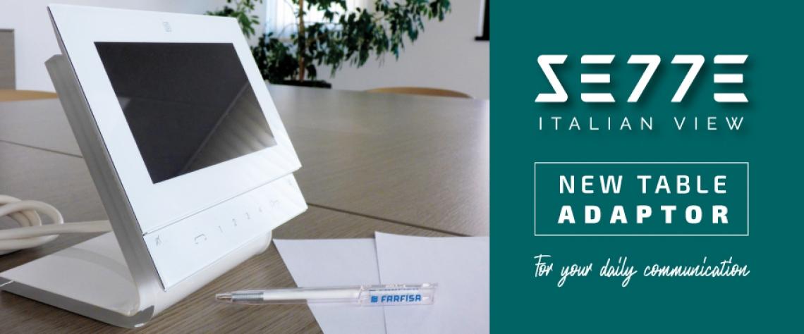 Nuovo adattatore da tavolo per monitor Sette