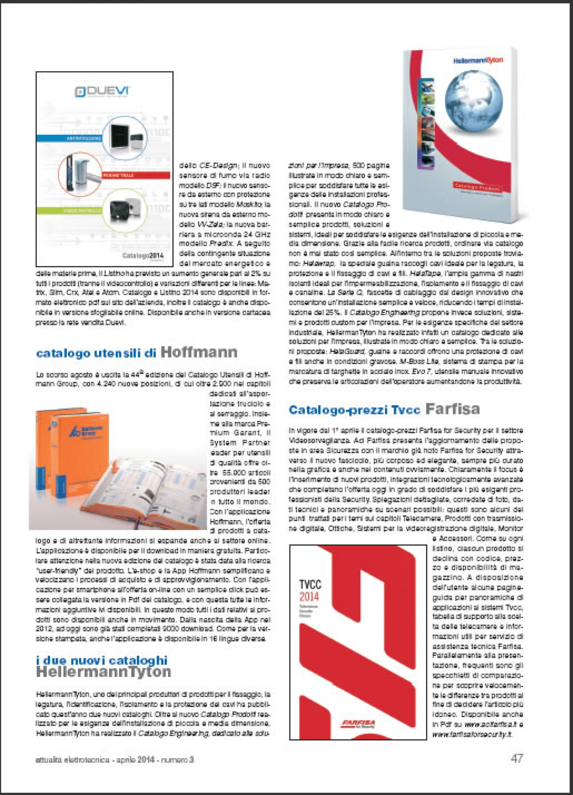 Nuovo catalogo prezzi Farfisa for Security