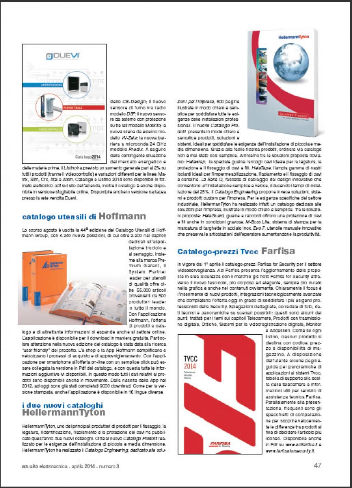 Nuovo catalogo prezzi Farfisa for Security