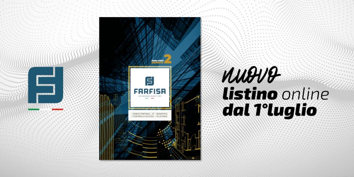 Nuovo listino prezzi mercato Italia