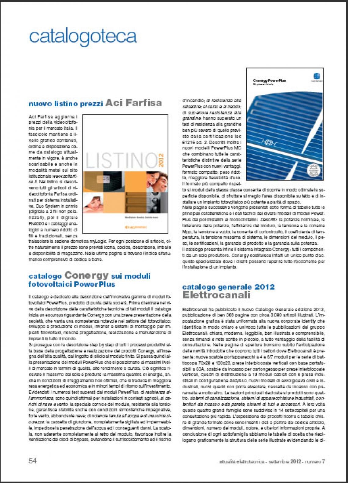 Nuovo listino prezzi videocitofonia Italia