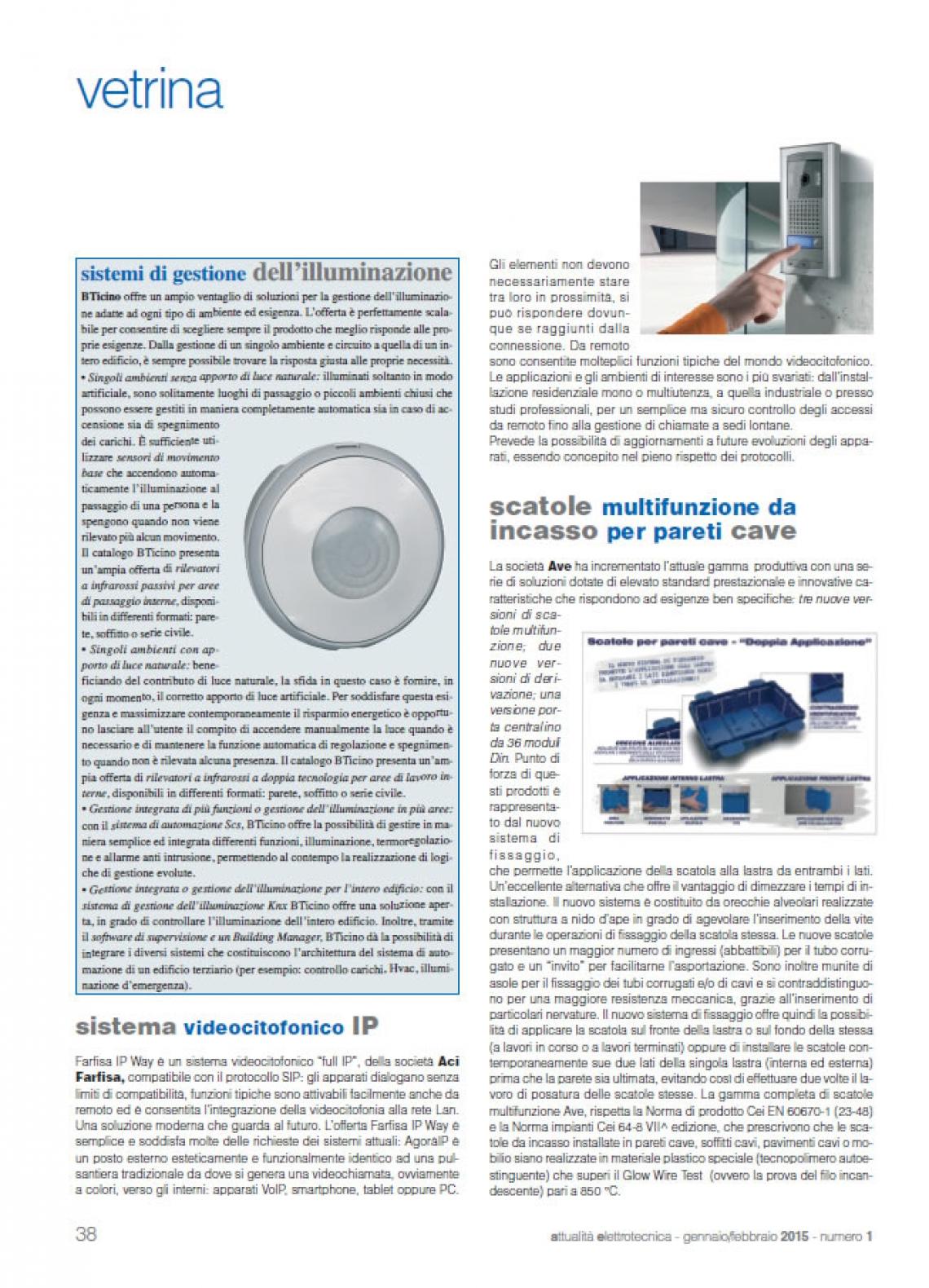 Sistema videocitofonico IP