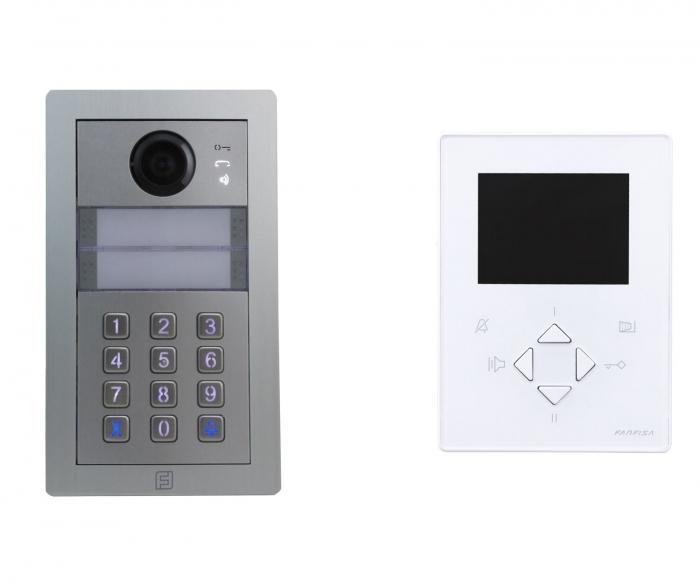 Videokit Alba ZHero keypad -ZH1252PDABW